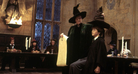 Harry Potter faces the Sorting Hat Choose Your Oxford College is here to